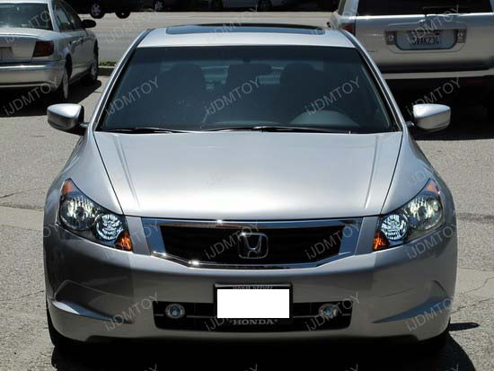 Honda - Accord - HID - conversion - HB3 - SMD - LED - DRL - 9